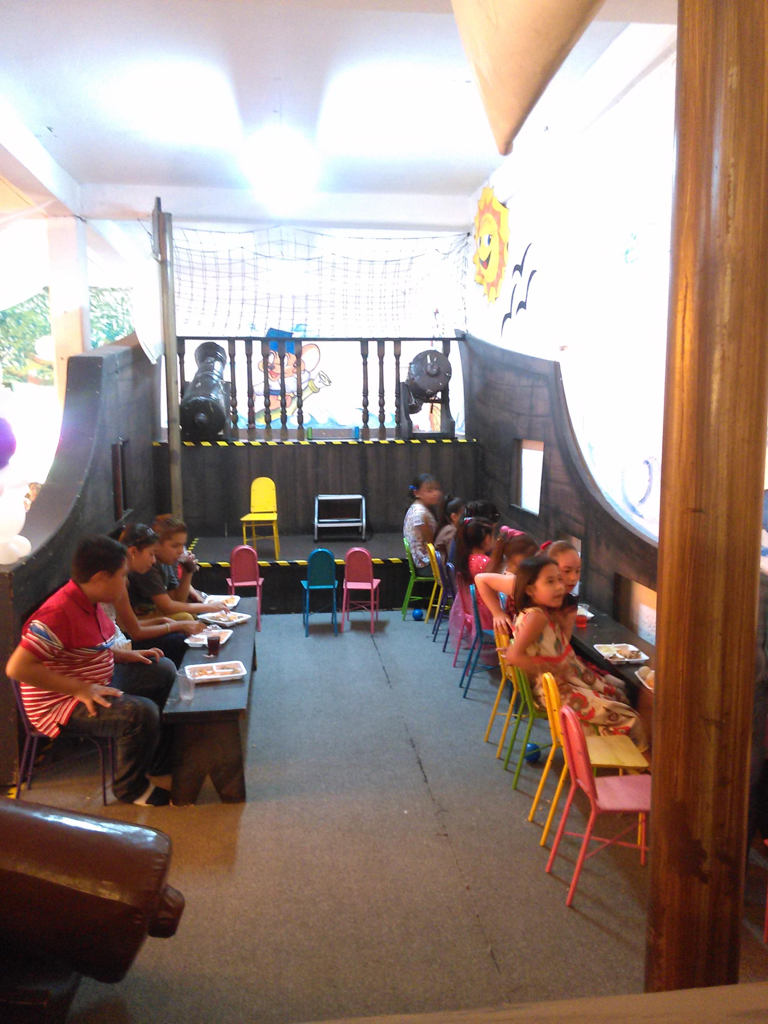 Salon de fiestas infantiles for Comedor infantil